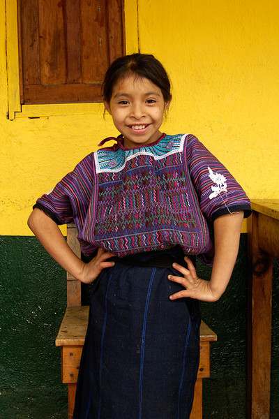 #GP 045 Girl with Style, Todas Santos Cuchumatan, Guatemala