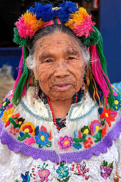 #GP 122 Woman with Headdress, Solola, Guatemala