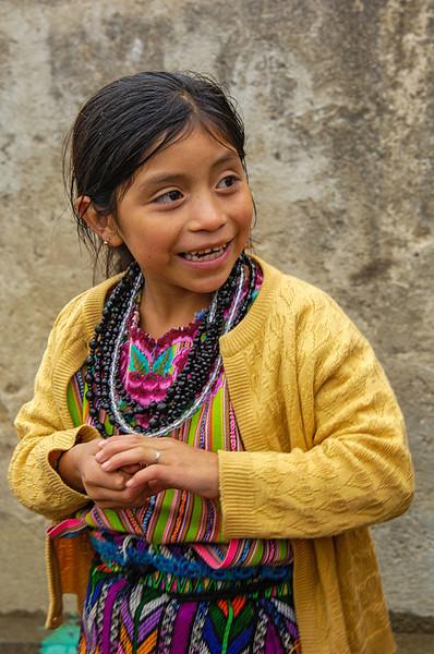 #GP 034 Girl, Zunil, Guatemala
