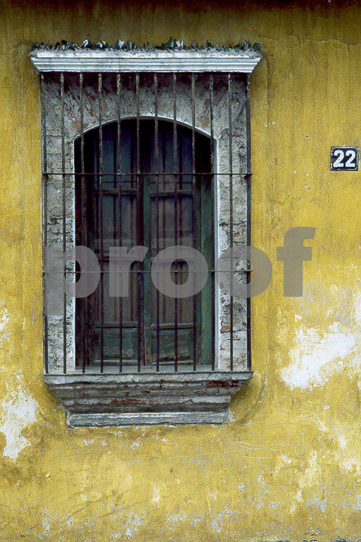 Antigua Window