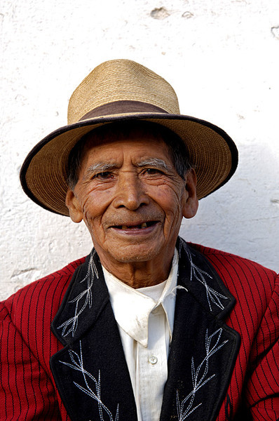#GP 010 Man in Red Jacket, Nebaj, Guatemala