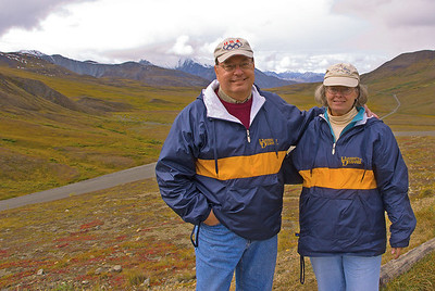 Welcome and thanks for taking time to look through my photo galleries.        My wife Ginny and I are both retired - this picture shows us in Denali National Park, Alaska a few years ago.       I have been involved with photography since the mid-60's when I got my first Nikon-F (which I still have). While I am still learning about digital, I think that you will find some of these photos interesting. My Smugmug site was started in July of 2006, and my intent is to gradually add pictures from the 60's to present. Another goal is to document some important events that our family will cherish in years to come - and maybe take some interesting pictures for many others to enjoy too.  Since inception, I have had almost 2 Million photo views by friends, relatives and fellow photographers - amazing!!  Thanks for looking!