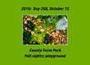 Photoset for October 15, 2016, County Farm Park