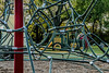 D288-2016  Detail of climbing apparatus<br /> <br /> County Farm Park, Ann Arbor<br /> Taken October 15, 2016