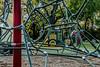 D288-2016  Detail of climbing apparatus<br /> <br /> County Farm Park, Ann Arbor<br /> Taken October 15, 2016