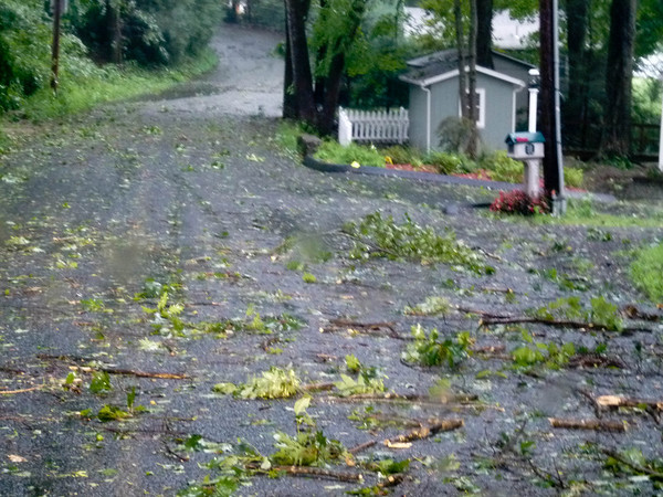 Guilford on Sunday after Irene