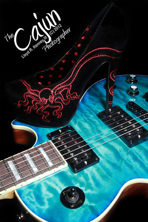Les Paul replica guitar by Warmoth. Guitar Photography By Lloyd Kenney III (C) 2012 All Rights Reserved