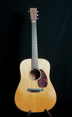 Martin D18GE. Purchased from Bob Shane. This guitar was played onstage with Nick Reynolds and John Stewart at the 8th Trio Fantasy Camp. My first good guitar.