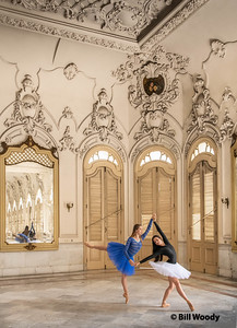 Dance in the national Theater of Cuba