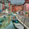 Borano, Italy - Island near Venice