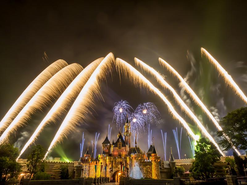 Cinderella Fireworks