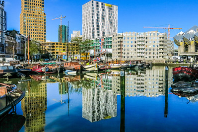 Inner harbor. Rotterdam.