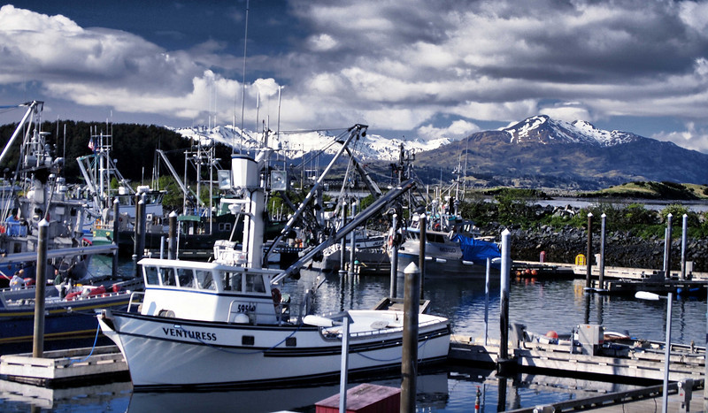Kodiak Harbor in HDR