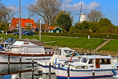 inner harbor in Veere