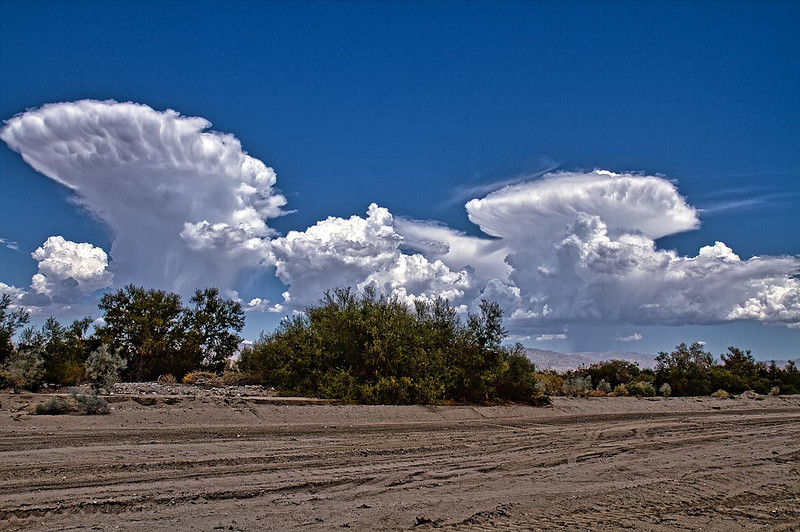 Thunderheads on a Palm Springs afternoon