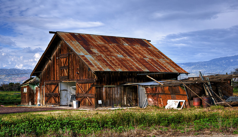 A barn in Hemet, Ca.