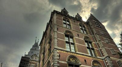 Oude Kerk in Delft (Netherlands) HDR of 2 images