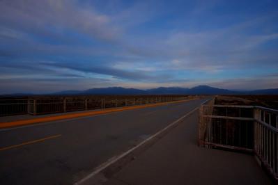 Rio Grande Gorge Bridge HDR of 2 images