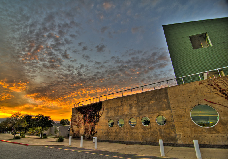 Childrens Museum, Old Town Albuquerque at sunrise.