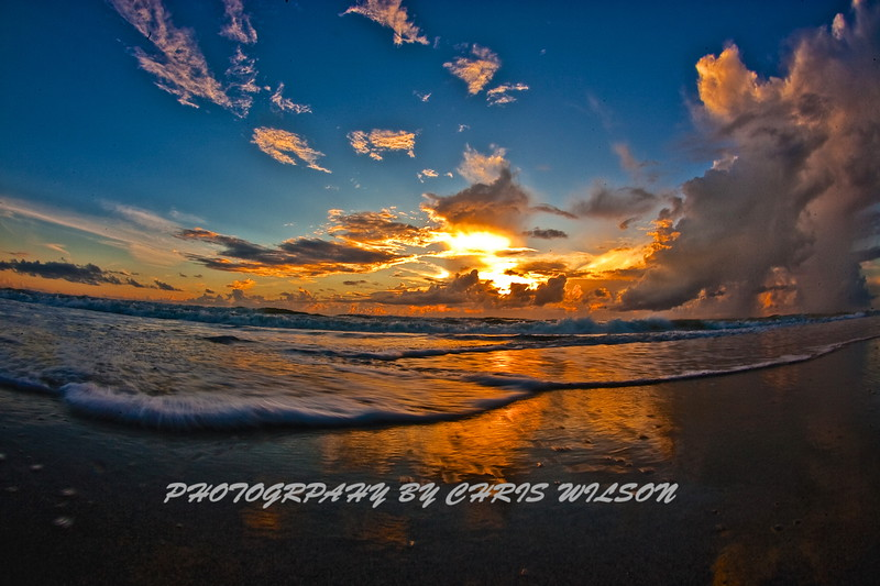 Mel Bch Sunrise HDR 002