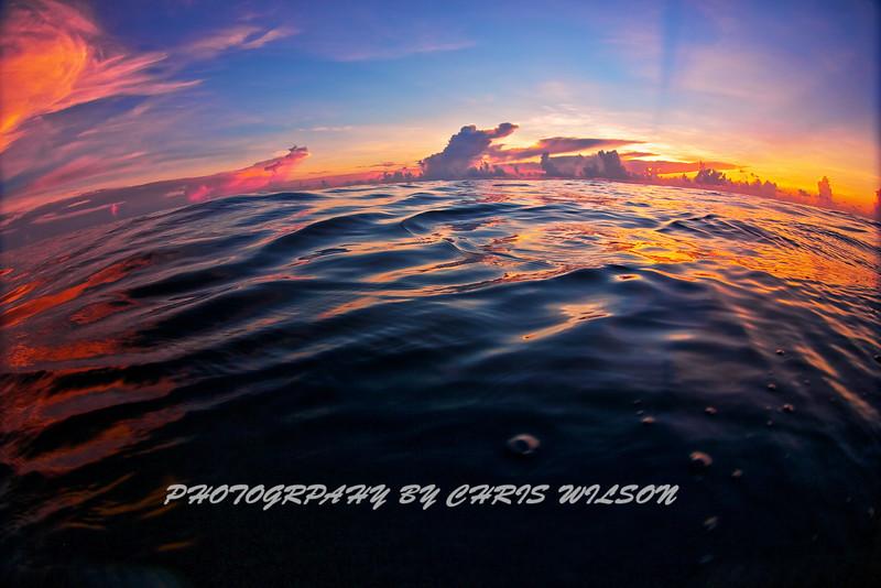 Aug Sunrise HDR 3