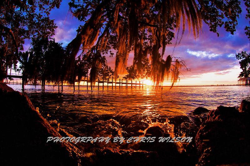 Mel Bch Moss Sunset HDR 1