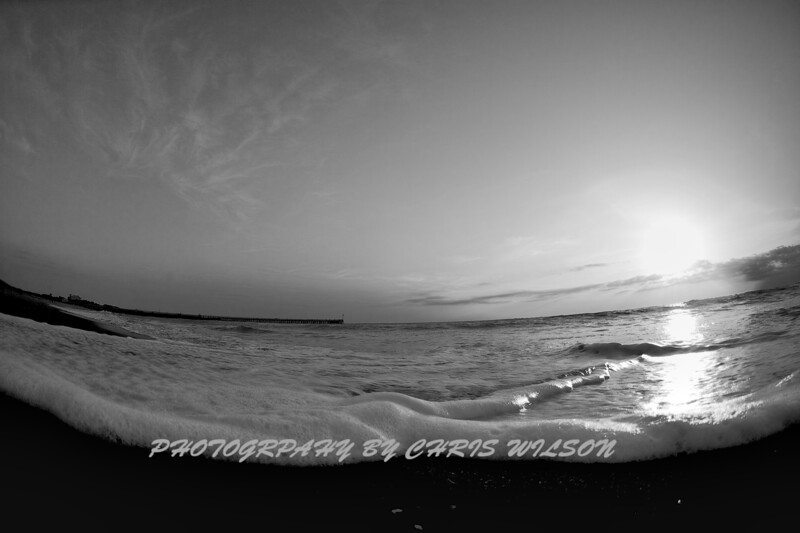 Mel Bch Sunrise HDR 13