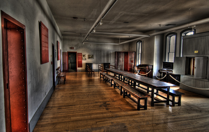 """This image was taken in the Wyoming Territorial Prison in Laramie, Wyoming.  The original image can be seen at  <a href=""""http://boaboa.smugmug.com/gallery/4090612_ZJjun#238407476_gMhAZ"""">http://boaboa.smugmug.com/gallery/4090612_ZJjun#238407476_gMhAZ</a> <br /> <br /> Thanks for the help Mike.  Check Mike's images at  <a href=""""http://www.flickr.com/photos/mtnguyd"""">http://www.flickr.com/photos/mtnguyd</a>"""