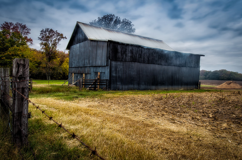 Smoke House<br /> Tennessee Tobacco Country<br /> <br /> 32 Bit HDR image