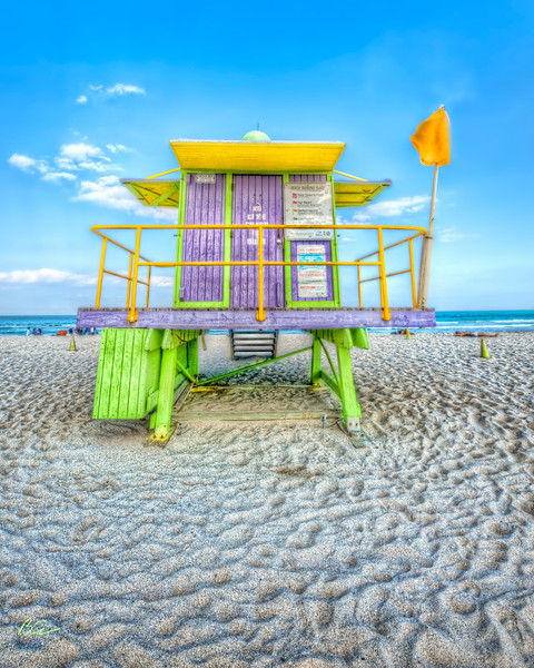 South Beach Life Guard house