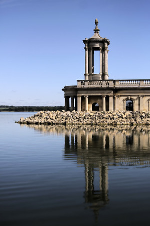 Normanton church on Rutland Water