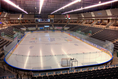 UP Center's ice rink