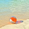 Beach ball on St. Thomas.