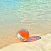 Beach ball on St. Thomas.