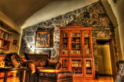 The great reading room #2 More surreal HDR treatement.
