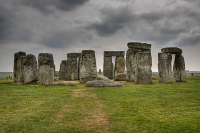 Stonehenge before the storm