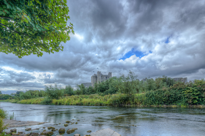 Trim Castle from the River Boyne