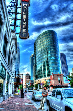 Downtown Kansas City, MO.