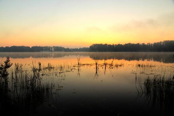 Misty Morning Water