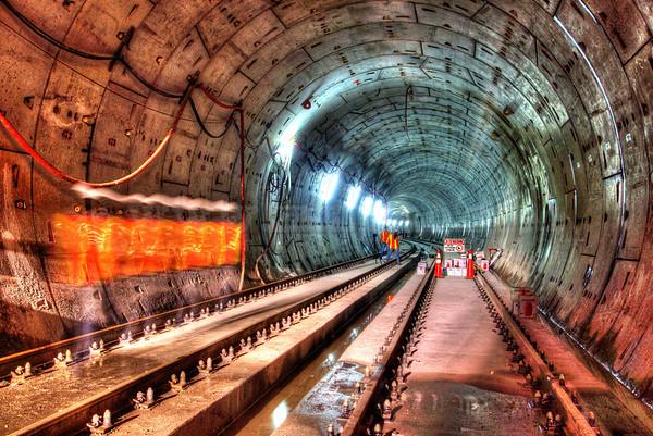 HDR photo taken at Panama's Subway Construction Site