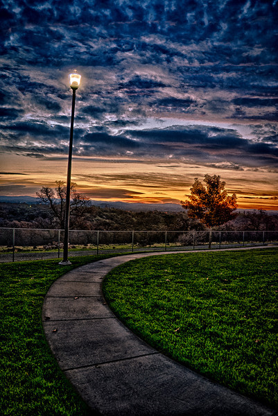 2012.11.20 (Tuesday)<br /> <br /> Another good day, got up early and headed north to a trusty spot in in search of a daily photo at a park at the top of the Rocklin.  <br /> <br /> After grabbing some shots, I headed in to work, I got in by seven and got to work on the UI for the new task. Things were still down after the DB upgrade yesterday so I logged into the production online banking with my new account in order in order to find the UI pages I was going to work on.  I started work on the new UI from the mock-ups.  Things went well, my previous task was a feature enhancement for electronic account transfers, it passed QA and went to production by the end of the day.  I worked ten hours and then called it a day.  I still don't have VPN, since I am a contractor the process is slower.  I guess I won't be working on Thanksgiving then!<br /> <br /> After work I came home and wished Korbie a happy birthday, three years old today!   I gave him hugs, tickled him, gave him a noogie and then we gave him his b-day presents.  A tractor and some cars, he was thrilled! <br /> <br /> Brandon came over for dinner and some cabbage, the bachelor life is tough but that's what mom and dad are for, right?  We had a gourmet chimichanga dinner and then I ran off to my room to post my daily photo.<br /> <br /> Going to join the family now<br /> <br /> Take care,<br /> Darron