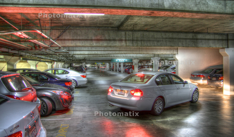 HDR Test- Parking Garage