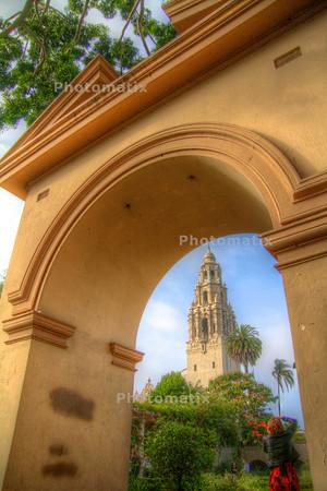 HDR Test Balboa Park- San Diego