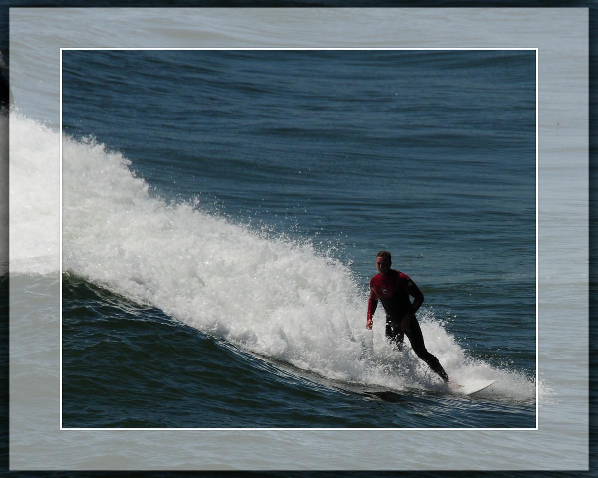 HUNTINGTON SURFER FRAMED