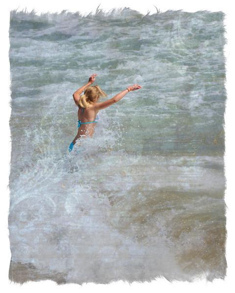 HUNTINGTON BEACH PIERPAPER WAVES