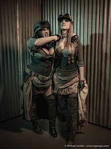 Halloween Cosplay Model Shootout