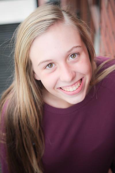 Hannah at 15