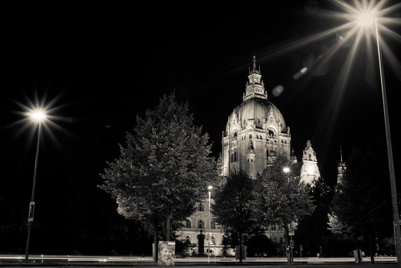 Das neue Rathaus am Tramplatz