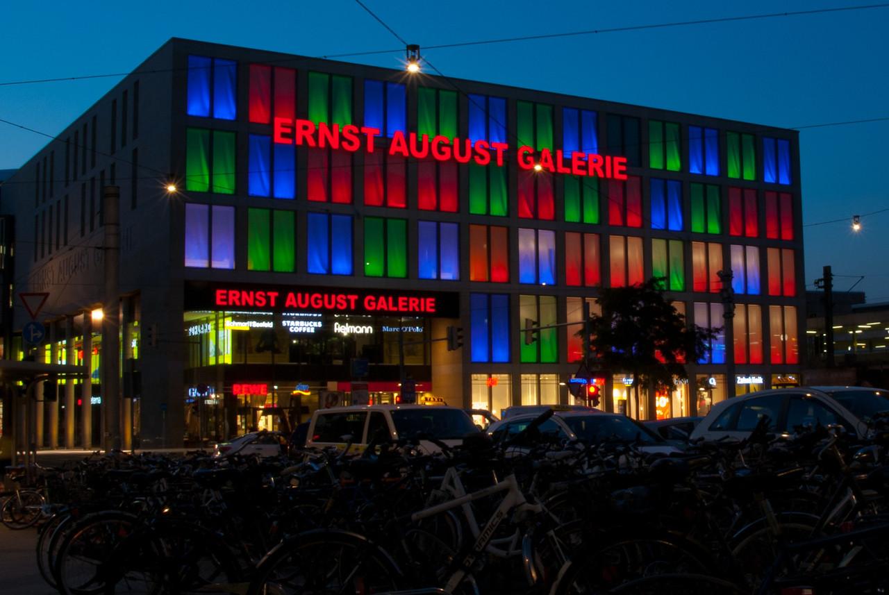 Die Ernst-August-Galerie am Hannover HBf