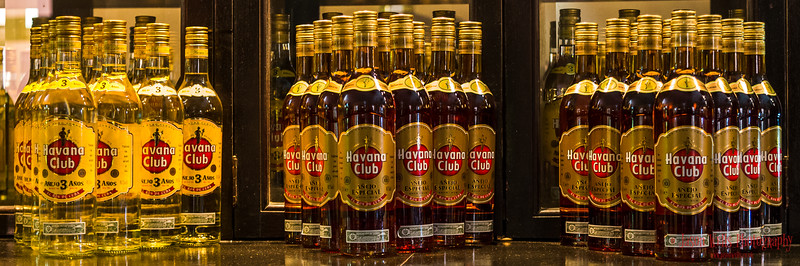 Triangles of Havana Club